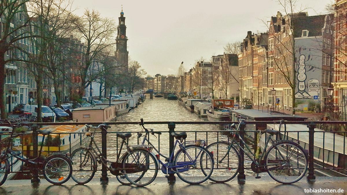 Leinwand Amsterdam mit Bildbearbeitung Tobias Hoiten
