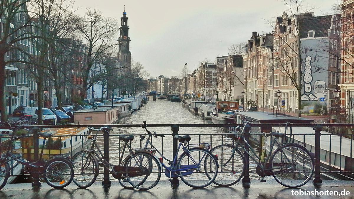 Leinwand Amsterdam vorher Tobias Hoiten