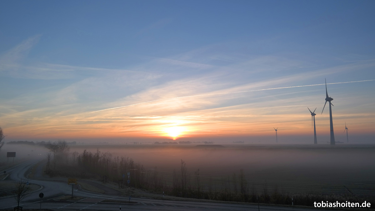 Neuharlingersiel Sonnenaufgang Tobias Hoiten