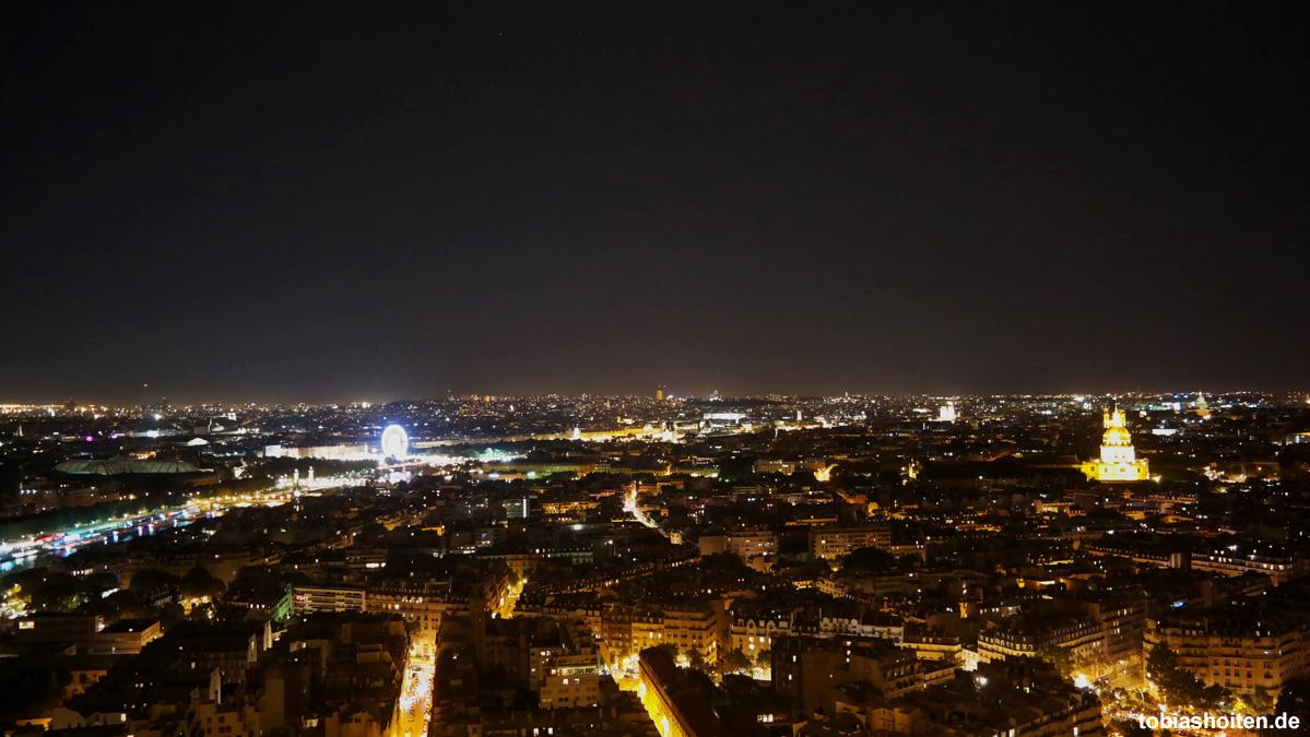 Paris Eiffelturm Nacht Tobias Hoiten