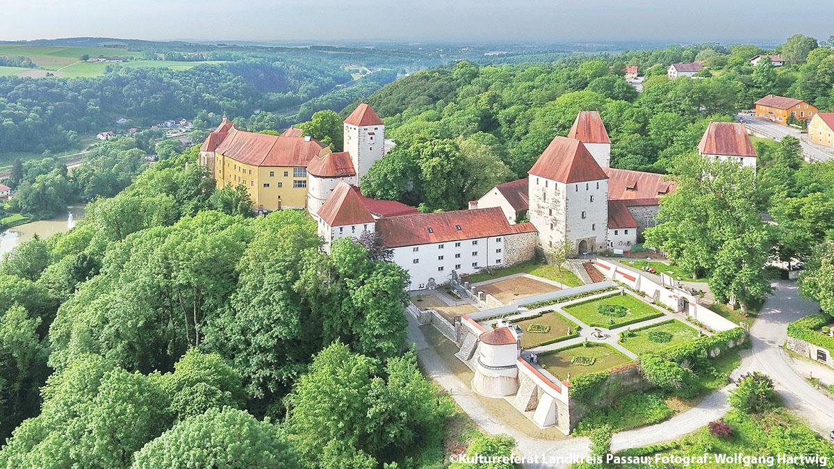 Schloss Neuburg am Inn Passauer Land