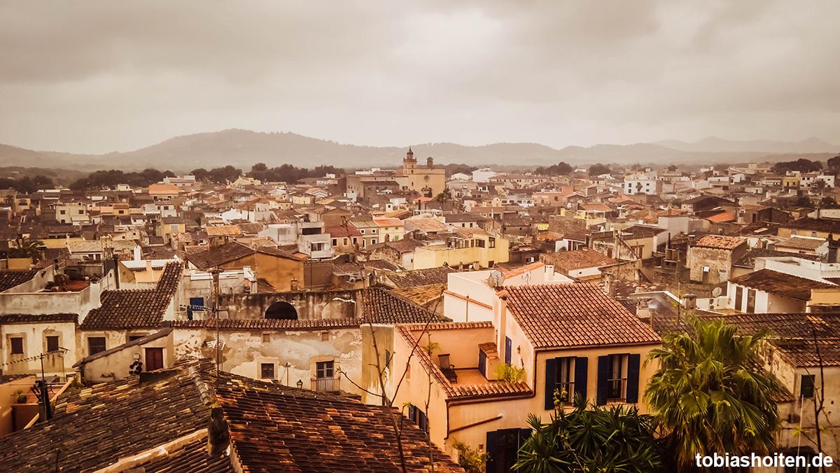 Mallorca bei Regen