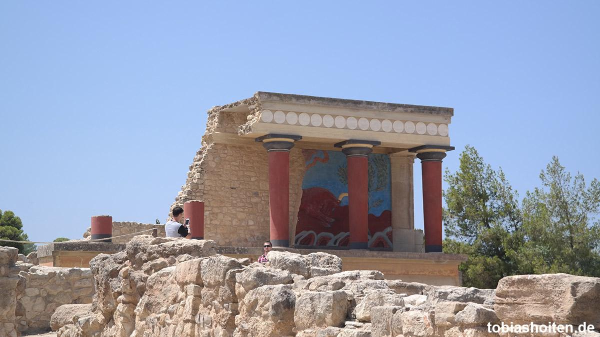 Kreta - Lohnt sich Knossos?