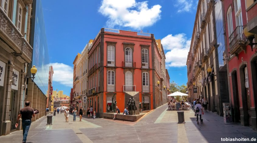 Gran Canaria Las Palmas Altstadt