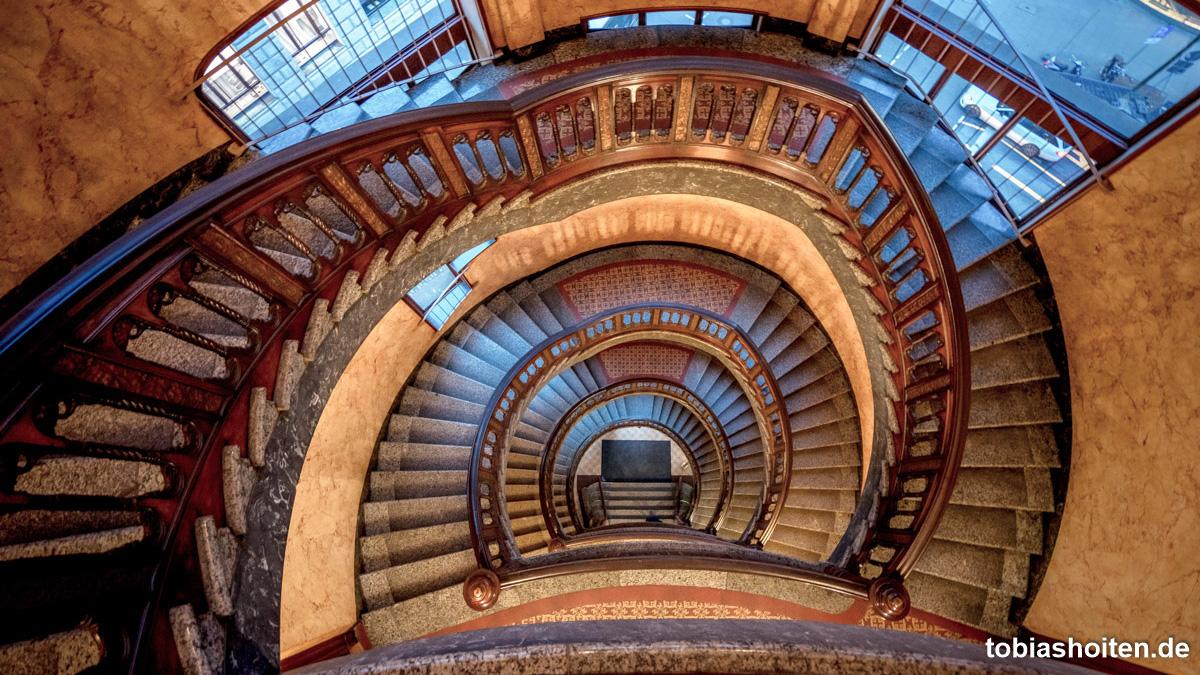 Fotospots Hamburg: Die schönsten Treppenhäuser in Hamburg